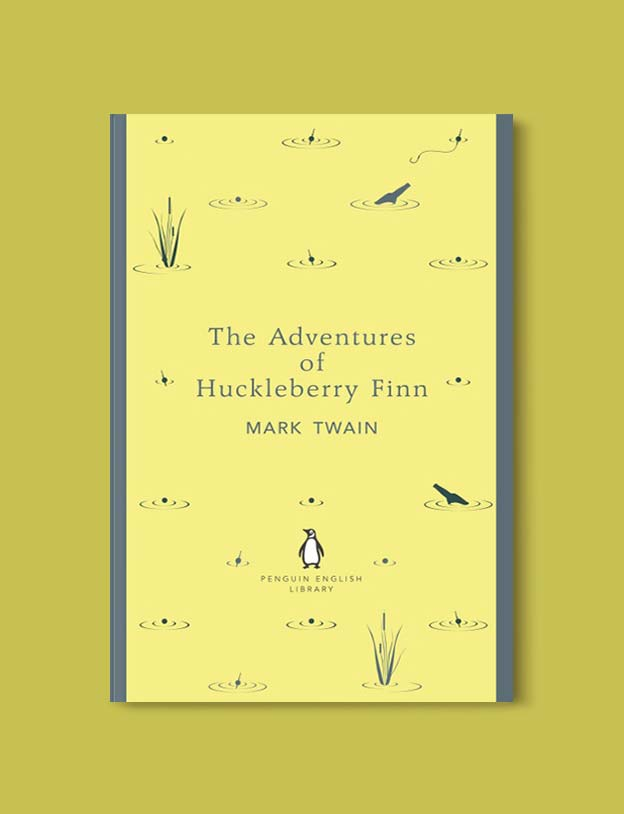 Penguin English Library - The Adventures of Huckleberry Finn by Mark Twain. penguin books, penguin classics, english library books, new penguin english library, penguin library, penguin books series, english library, coralie bickford smith, classic books, classic books to read, book design, reading challenge, reading list, books to read
