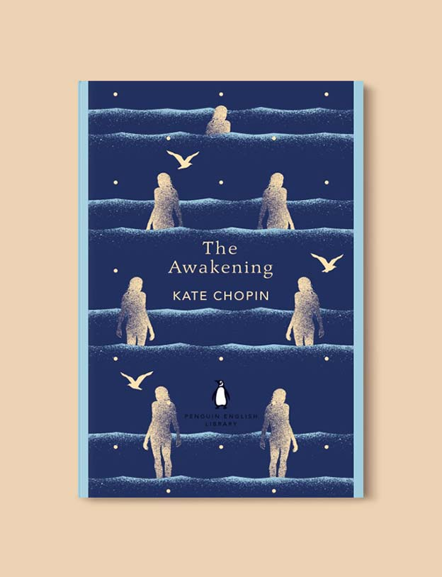 Penguin English Library - The Awakening by Kate Chopin. penguin books, penguin classics, english library books, new penguin english library, penguin library, penguin books series, english library, coralie bickford smith, classic books, classic books to read, book design, reading challenge, reading list, books to read