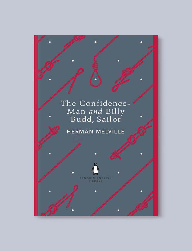 Penguin English Library - The Confidence-Man and Billy Budd, Sailor by Herman Melville. penguin books, penguin classics, english library books, new penguin english library, penguin library, penguin books series, english library, coralie bickford smith, classic books, classic books to read, book design, reading challenge, reading list, books to read
