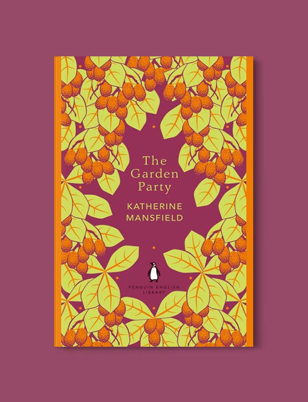 Penguin English Library - The Garden Party by Katherine Mansfield. penguin books, penguin classics, english library books, new penguin english library, penguin library, penguin books series, english library, coralie bickford smith, classic books, classic books to read, book design, reading challenge, reading list, books to read