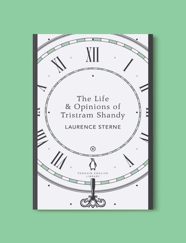 Penguin English Library - The Life and Opinions of Tristram Shandy by Laurence Sterne. penguin books, penguin classics, english library books, new penguin english library, penguin library, penguin books series, english library, coralie bickford smith, classic books, classic books to read, book design, reading challenge, reading list, books to read