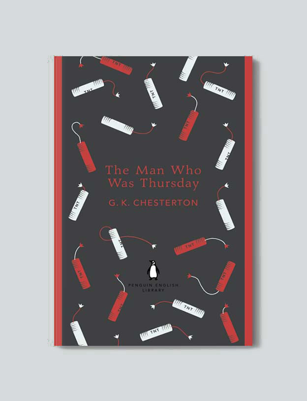 Penguin English Library - The Man Who Was Thursday by G. K. Chesterton. penguin books, penguin classics, english library books, new penguin english library, penguin library, penguin books series, english library, coralie bickford smith, classic books, classic books to read, book design, reading challenge, reading list, books to read