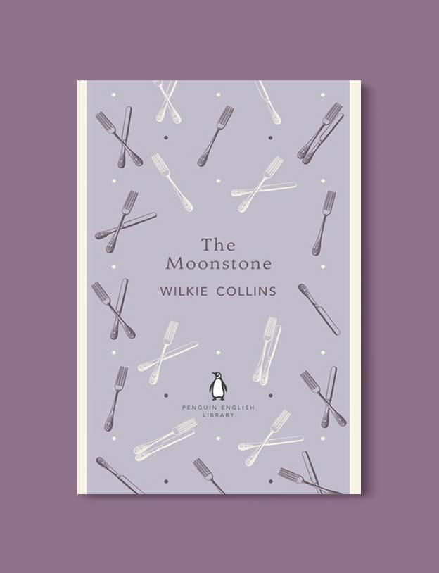 Penguin English Library - The Moonstone by Wilkie Collins. penguin books, penguin classics, english library books, new penguin english library, penguin library, penguin books series, english library, coralie bickford smith, classic books, classic books to read, book design, reading challenge, reading list, books to read