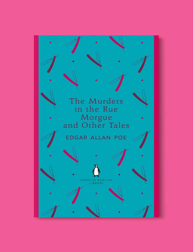 Penguin English Library - The Murders in the Rue Morgue and Other Tales by Edgar Allan Poe. penguin books, penguin classics, english library books, new penguin english library, penguin library, penguin books series, english library, coralie bickford smith, classic books, classic books to read, book design, reading challenge, reading list, books to read