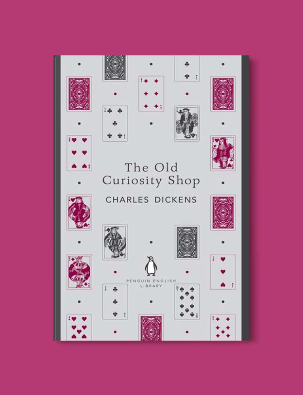 Penguin English Library - The Old Curiosity Shop by Charles Dickens. penguin books, penguin classics, english library books, new penguin english library, penguin library, penguin books series, english library, coralie bickford smith, classic books, classic books to read, book design, reading challenge, reading list, books to read