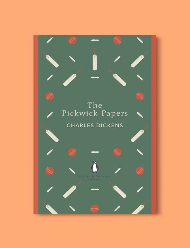 Penguin English Library - The Pickwick Papers by Charles Dickens. penguin books, penguin classics, english library books, new penguin english library, penguin library, penguin books series, english library, coralie bickford smith, classic books, classic books to read, book design, reading challenge, reading list, books to read