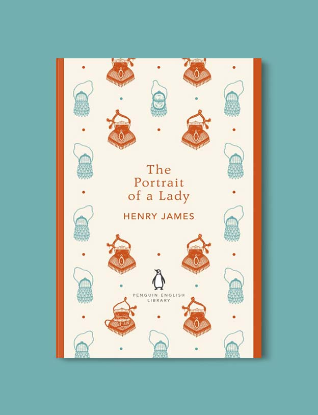 Penguin English Library - The Portrait of a Lady by Henry James. penguin books, penguin classics, english library books, new penguin english library, penguin library, penguin books series, english library, coralie bickford smith, classic books, classic books to read, book design, reading challenge, reading list, books to read