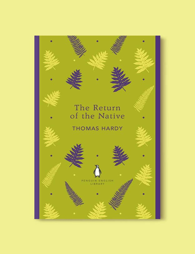 Penguin English Library - The Return of the Native by Thomas Hardy. penguin books, penguin classics, english library books, new penguin english library, penguin library, penguin books series, english library, coralie bickford smith, classic books, classic books to read, book design, reading challenge, reading list, books to read