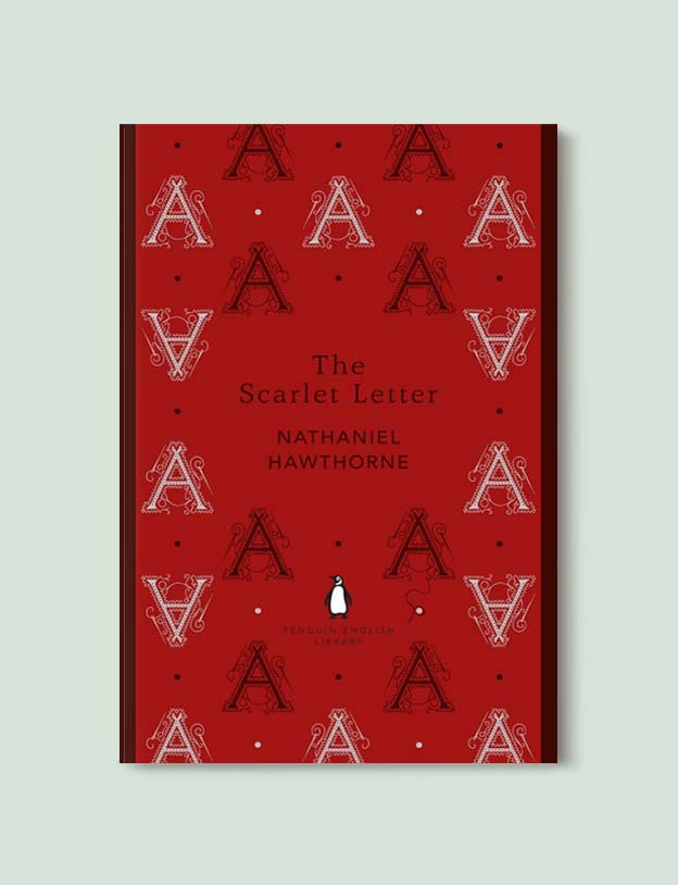 Penguin English Library - The Scarlet Letter by Nathaniel Hawthorne. penguin books, penguin classics, english library books, new penguin english library, penguin library, penguin books series, english library, coralie bickford smith, classic books, classic books to read, book design, reading challenge, reading list, books to read