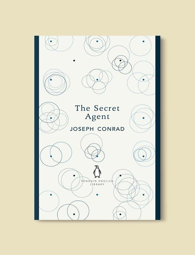 Penguin English Library - The Secret Agent by Joseph Conrad. penguin books, penguin classics, english library books, new penguin english library, penguin library, penguin books series, english library, coralie bickford smith, classic books, classic books to read, book design, reading challenge, reading list, books to read