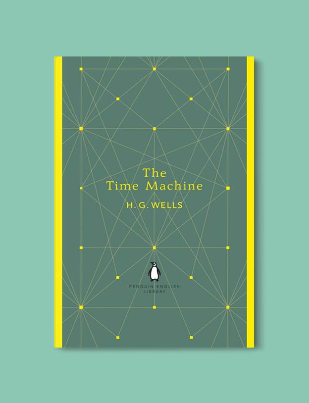 Penguin English Library - The Time Machine by H. G. Wells. penguin books, penguin classics, english library books, new penguin english library, penguin library, penguin books series, english library, coralie bickford smith, classic books, classic books to read, book design, reading challenge, reading list, books to read