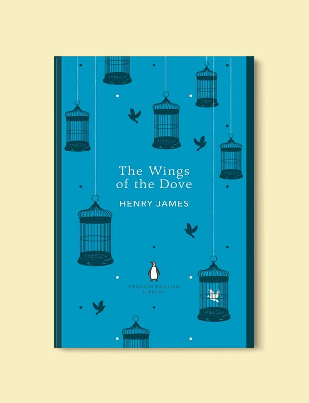 Penguin English Library - The Wings of the Dove by Henry James. penguin books, penguin classics, english library books, new penguin english library, penguin library, penguin books series, english library, coralie bickford smith, classic books, classic books to read, book design, reading challenge, reading list, books to read
