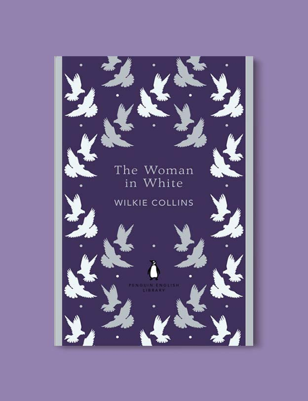 Penguin English Library - The Woman in White by Wilkie Collins. penguin books, penguin classics, english library books, new penguin english library, penguin library, penguin books series, english library, coralie bickford smith, classic books, classic books to read, book design, reading challenge, reading list, books to read