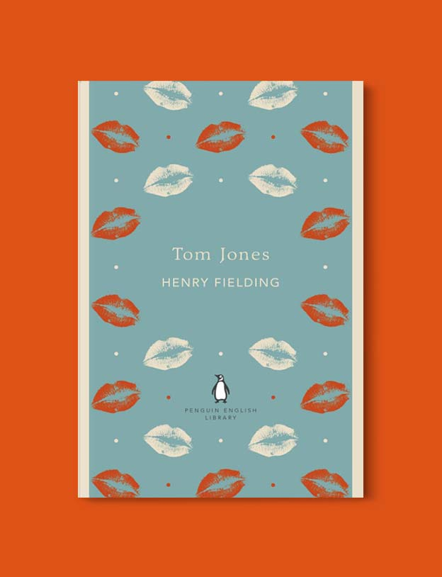Penguin English Library - Tom Jones by Henry Fielding. penguin books, penguin classics, english library books, new penguin english library, penguin library, penguin books series, english library, coralie bickford smith, classic books, classic books to read, book design, reading challenge, reading list, books to read