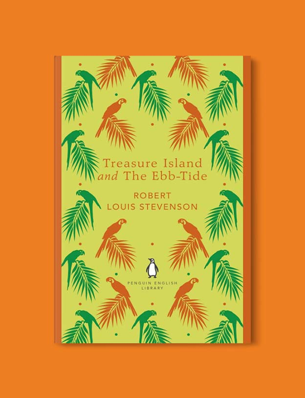 Penguin English Library - Treasure Island and The Ebb-Tide by Robert Louis Stevenson. penguin books, penguin classics, english library books, new penguin english library, penguin library, penguin books series, english library, coralie bickford smith, classic books, classic books to read, book design, reading challenge, reading list, books to read