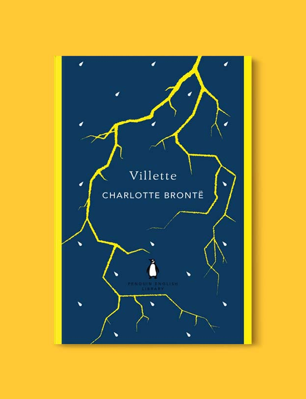Penguin English Library - Villette by Charlotte Brontë. penguin books, penguin classics, english library books, new penguin english library, penguin library, penguin books series, english library, coralie bickford smith, classic books, classic books to read, book design, reading challenge, reading list, books to read
