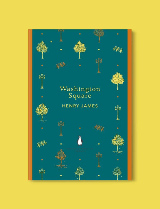 Penguin English Library - Washington Square by Henry James. penguin books, penguin classics, english library books, new penguin english library, penguin library, penguin books series, english library, coralie bickford smith, classic books, classic books to read, book design, reading challenge, reading list, books to read