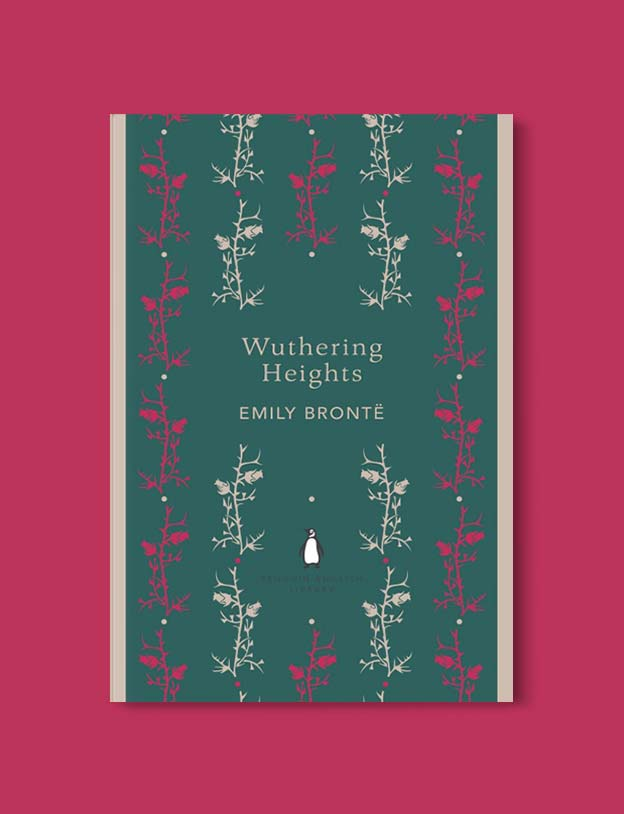 Penguin English Library - Wuthering Heights by Emily Brontë. penguin books, penguin classics, english library books, new penguin english library, penguin library, penguin books series, english library, coralie bickford smith, classic books, classic books to read, book design, reading challenge, reading list, books to read