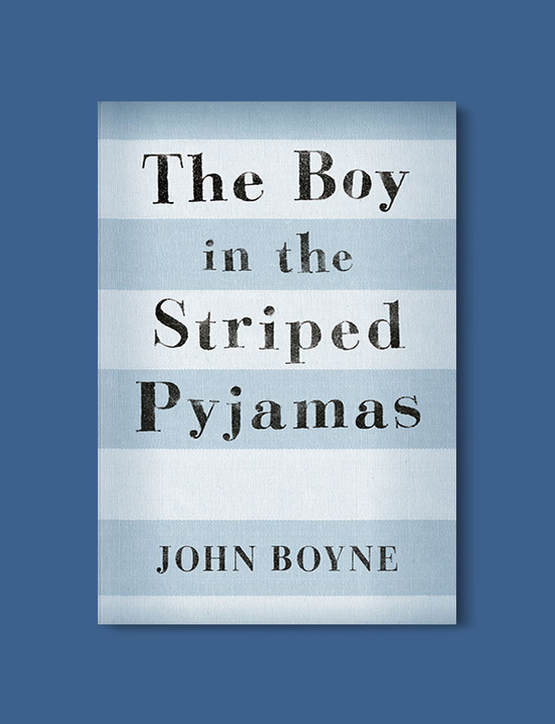 Books Set Around The World - The Boy In The Striped Pajamas by John Boyne. For more books that inspire travel visit www.taleway.com. world books, books around the world, travel inspiration, world travel, novels set around the world, world novels, books and travel, travel reads, reading list, books to read, books set in different countries, world reading challenge