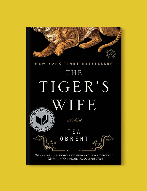 Books Set Around The World - The Tiger's Wife by Téa Obreht. For more books that inspire travel visit www.taleway.com. world books, books around the world, travel inspiration, world travel, novels set around the world, world novels, books and travel, travel reads, reading list, books to read, books set in different countries, world reading challenge