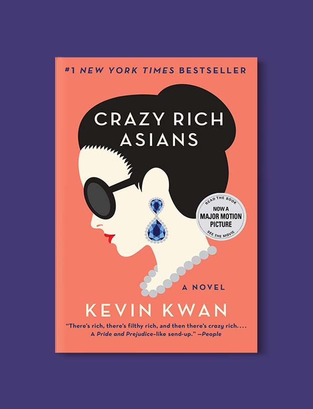 Books Set Around The World - Crazy Rich Asians by Kevin Kwan. For more books that inspire travel visit www.taleway.com. world books, books around the world, travel inspiration, world travel, novels set around the world, world novels, books and travel, travel reads, reading list, books to read, books set in different countries, world reading challenge