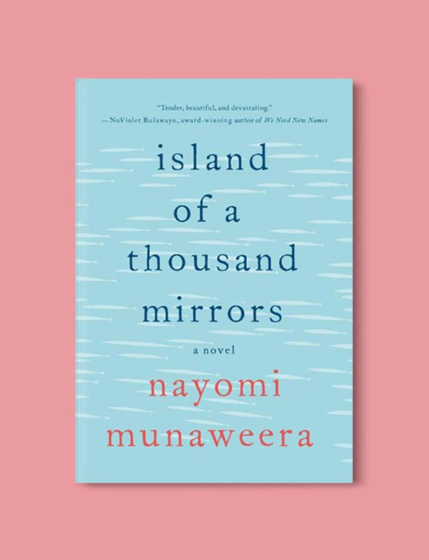 Books Set Around The World - Island of a Thousand Mirrors by Nayomi Munaweera. For more books that inspire travel visit www.taleway.com. world books, books around the world, travel inspiration, world travel, novels set around the world, world novels, books and travel, travel reads, reading list, books to read, books set in different countries, world reading challenge