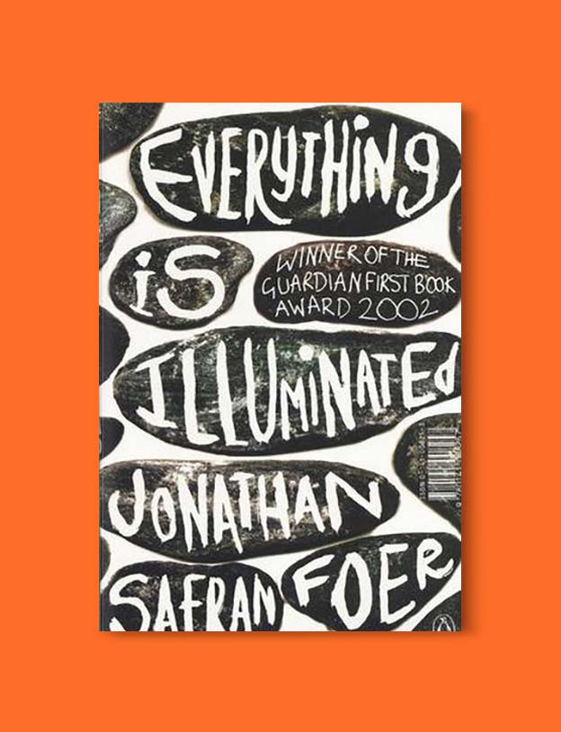 Books Set Around The World - Everything Is Illuminated by Jonathan Safran Foer. For more books that inspire travel visit www.taleway.com. world books, books around the world, travel inspiration, world travel, novels set around the world, world novels, books and travel, travel reads, reading list, books to read, books set in different countries, world reading challenge