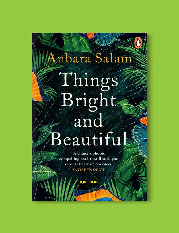 Books Set Around The World - Things Bright and Beautiful by Anbara Salam. For more books that inspire travel visit www.taleway.com. world books, books around the world, travel inspiration, world travel, novels set around the world, world novels, books and travel, travel reads, reading list, books to read, books set in different countries, world reading challenge