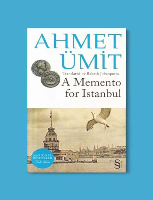 Books Set in Turkey - A Memento for Istanbul by Ahmet Ümit. For more books that inspire travel visit www.taleaway.com - turkish books, turkish novels, turkish book cover, turkish authors, turkey books, istanbul book, turkey inspiration, books and travel, travel reads, reading list, books to read, books set in different countries, turkish books in english, turkey reading list, turkey reading challenge