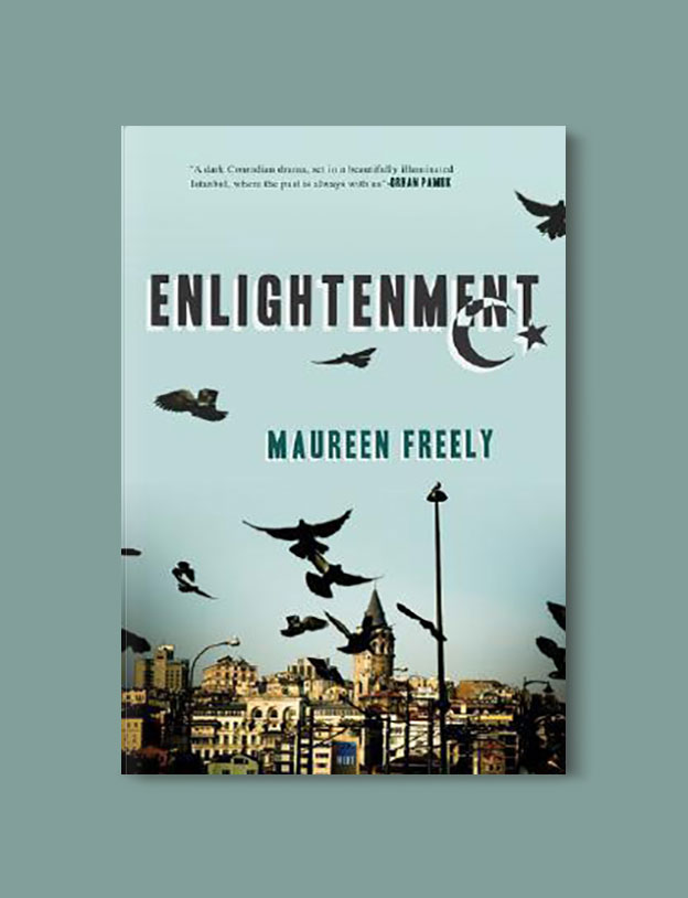 Books Set in Turkey - Enlightenment by Maureen Freely. For more books that inspire travel visit www.taleaway.com - turkish books, turkish novels, turkish book cover, turkish authors, turkey books, istanbul book, turkey inspiration, books and travel, travel reads, reading list, books to read, books set in different countries, turkish books in english, turkey reading list, turkey reading challenge