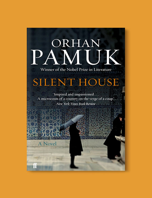 Books Set in Turkey - Silent House by Orhan Pamuk. For more books that inspire travel visit www.taleaway.com - turkish books, turkish novels, turkish book cover, turkish authors, turkey books, istanbul book, turkey inspiration, books and travel, travel reads, reading list, books to read, books set in different countries, turkish books in english, turkey reading list, turkey reading challenge