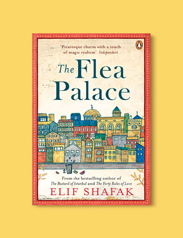 Books Set in Turkey - The Flea Palace by Elif Shafak. For more books that inspire travel visit www.taleaway.com - turkish books, turkish novels, turkish book cover, turkish authors, turkey books, istanbul book, turkey inspiration, books and travel, travel reads, reading list, books to read, books set in different countries, turkish books in english, turkey reading list, turkey reading challenge