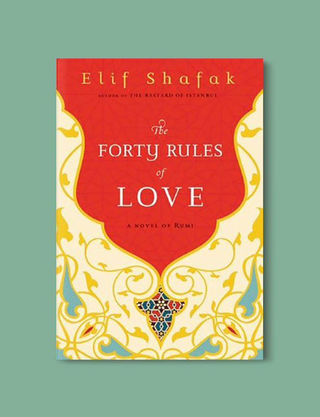 Books Set in Turkey - The Forty Rules of Love by Elif Shafak. For more books that inspire travel visit www.taleaway.com - turkish books, turkish novels, turkish book cover, turkish authors, turkey books, istanbul book, turkey inspiration, books and travel, travel reads, reading list, books to read, books set in different countries, turkish books in english, turkey reading list, turkey reading challenge