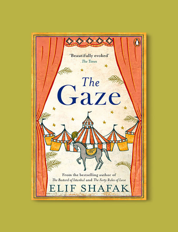 Books Set in Turkey - The Gaze by Elif Shafak. For more books that inspire travel visit www.taleaway.com - turkish books, turkish novels, turkish book cover, turkish authors, turkey books, istanbul book, turkey inspiration, books and travel, travel reads, reading list, books to read, books set in different countries, turkish books in english, turkey reading list, turkey reading challenge