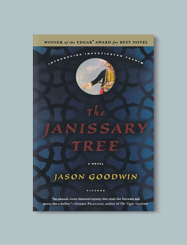 Books Set in Turkey - The Janissary Tree by Jason Goodwin. For more books that inspire travel visit www.taleaway.com - turkish books, turkish novels, turkish book cover, turkish authors, turkey books, istanbul book, turkey inspiration, books and travel, travel reads, reading list, books to read, books set in different countries, turkish books in english, turkey reading list, turkey reading challenge