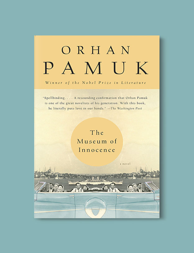 Books Set in Turkey - The Museum of Innocence by Orhan Pamuk. For more books that inspire travel visit www.taleaway.com - turkish books, turkish novels, turkish book cover, turkish authors, turkey books, istanbul book, turkey inspiration, books and travel, travel reads, reading list, books to read, books set in different countries, turkish books in english, turkey reading list, turkey reading challenge
