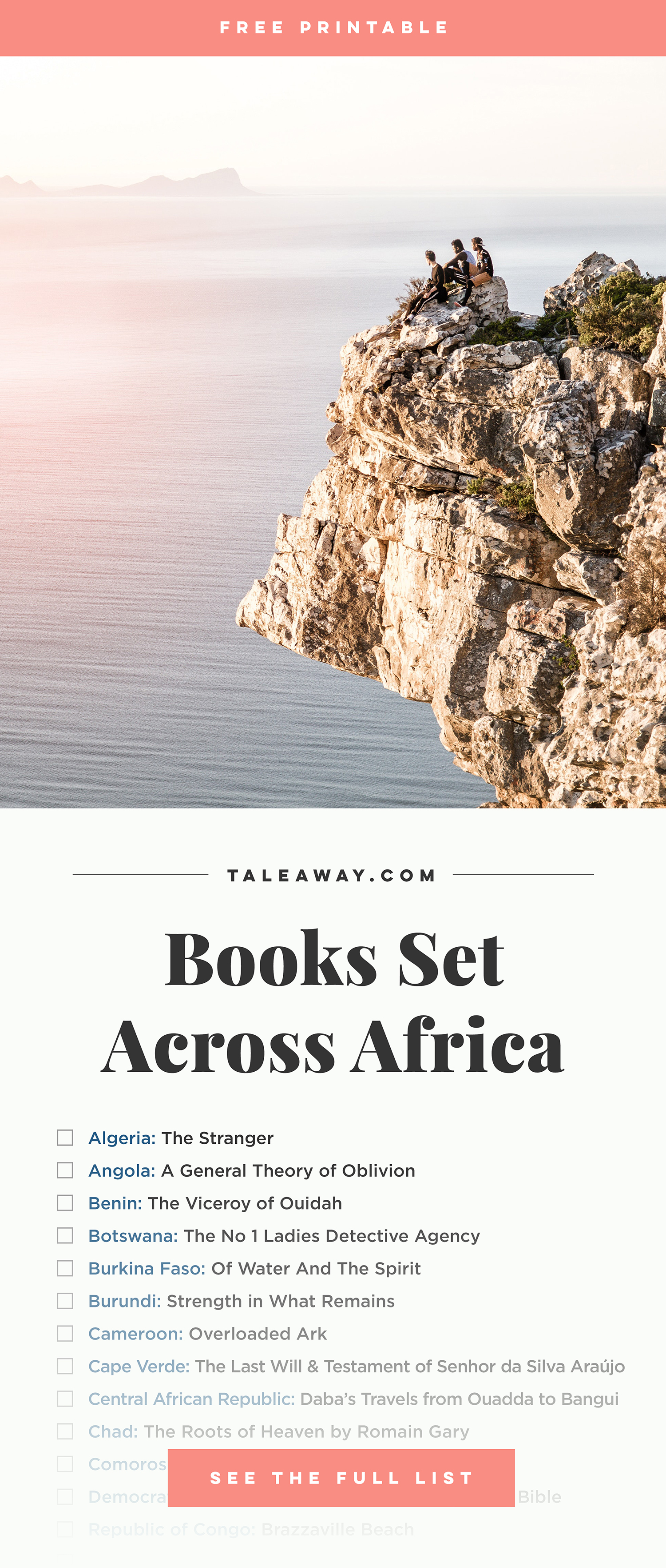 Books Set In Africa - Visit www.taleway.com to find books set around the world. africa books, african books, books african authors, africa novels, africa literature, africa culture, africa travel, africa book cover, africa reading challenge, african books to read, africa reading list, africa travel, best african books, books by african authors, books for travel lovers, travel reads, travel reading list, reading list, reading challenge, books around the world
