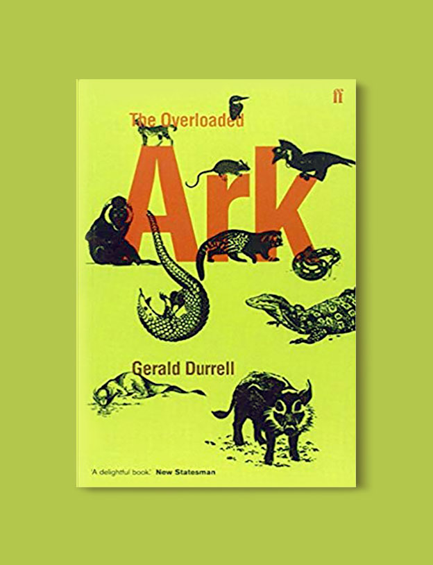 Books Set In Africa: Cameroon, Overloaded Ark by Gerald Durrell - Visit www.taleway.com to find books set around the world. africa books, african books, books african authors, africa novels, africa literature, africa culture, africa travel, africa book cover, africa reading challenge, african books to read, africa reading list, africa travel, best african books, books by african authors, books for travel lovers, travel reads, travel reading list, reading list, reading challenge, books around the world
