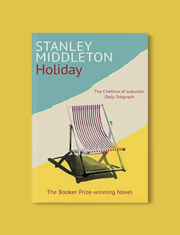 Booker Prize Winner 1974 - Holiday by Stanley Middleton - Visit www.taleway.com to find books set around the world. booker prize, booker prize winners, booker prize winners list, booker prize winners list pdf, man booker authors, man booker prize, man booker prize for fiction, booker prize for fiction, man booker prize winners, man booker prize novels, booker prize books, booker prize winners, reading list, book awards, booker reading challenge, literary awards, booker shortlists, booker longlists