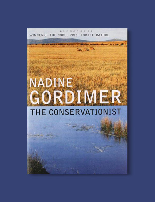Booker Prize Winner 1974 - The Conservationist by Nadine Gordimer - Visit www.taleway.com to find books set around the world. booker prize, booker prize winners, booker prize winners list, booker prize winners list pdf, man booker authors, man booker prize, man booker prize for fiction, booker prize for fiction, man booker prize winners, man booker prize novels, booker prize books, booker prize winners, reading list, book awards, booker reading challenge, literary awards, booker shortlists, booker longlists