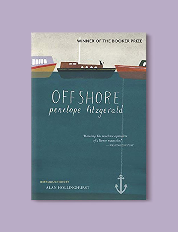 Booker Prize Winner 1979 - Offshore by Penelope Fitzgerald - Visit www.taleway.com to find books set around the world. booker prize, booker prize winners, booker prize winners list, booker prize winners list pdf, man booker authors, man booker prize, man booker prize for fiction, booker prize for fiction, man booker prize winners, man booker prize novels, booker prize books, booker prize winners, reading list, book awards, booker reading challenge, literary awards, booker shortlists, booker longlists
