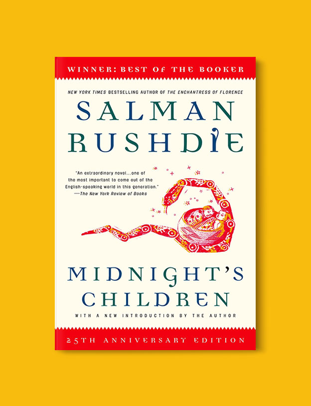 Booker Prize Winner 1981 - Midnight's Children by Salman Rushdie - Visit www.taleway.com to find books set around the world. booker prize, booker prize winners, booker prize winners list, booker prize winners list pdf, man booker authors, man booker prize, man booker prize for fiction, booker prize for fiction, man booker prize winners, man booker prize novels, booker prize books, booker prize winners, reading list, book awards, booker reading challenge, literary awards, booker shortlists, booker longlists