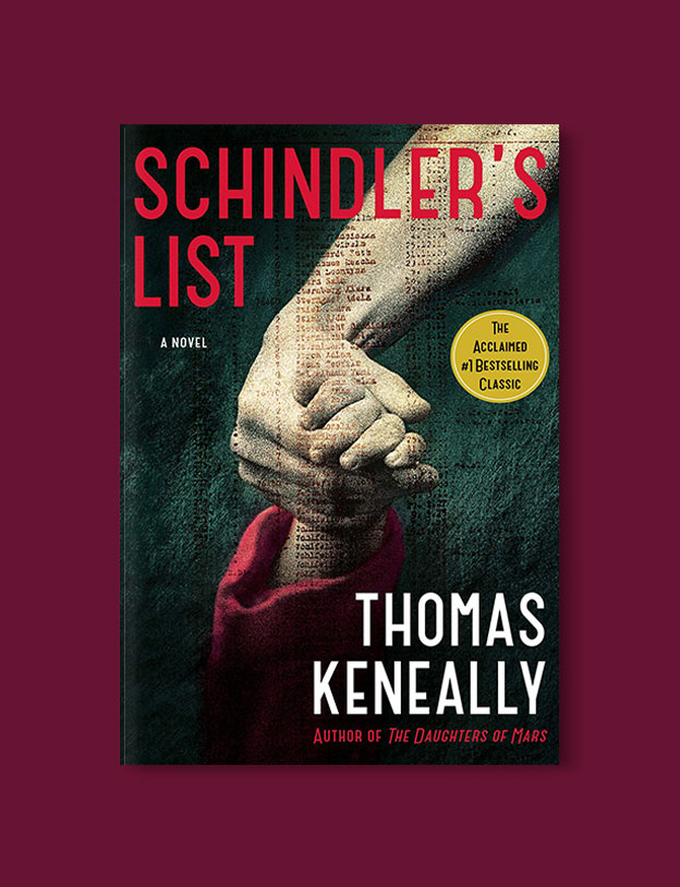 Booker Prize Winner 1982 - Schindler's Ark by Thomas Keneally - Visit www.taleway.com to find books set around the world. booker prize, booker prize winners, booker prize winners list, booker prize winners list pdf, man booker authors, man booker prize, man booker prize for fiction, booker prize for fiction, man booker prize winners, man booker prize novels, booker prize books, booker prize winners, reading list, book awards, booker reading challenge, literary awards, booker shortlists, booker longlists