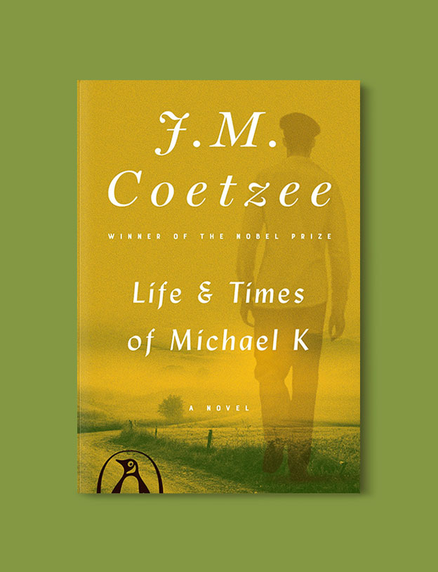 Booker Prize Winner 1983 - Life & Times of Michael K by J. M. Coetzee - Visit www.taleway.com to find books set around the world. booker prize, booker prize winners, booker prize winners list, booker prize winners list pdf, man booker authors, man booker prize, man booker prize for fiction, booker prize for fiction, man booker prize winners, man booker prize novels, booker prize books, booker prize winners, reading list, book awards, booker reading challenge, literary awards, booker shortlists, booker longlists