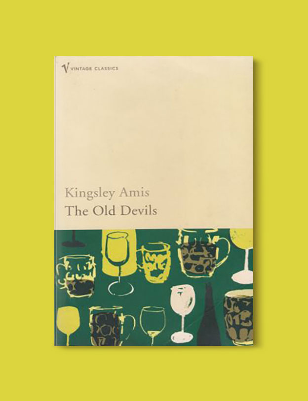 Booker Prize Winner 1986 - The Old Devils by Kingsley Amis - Visit www.taleway.com to find books set around the world. booker prize, booker prize winners, booker prize winners list, booker prize winners list pdf, man booker authors, man booker prize, man booker prize for fiction, booker prize for fiction, man booker prize winners, man booker prize novels, booker prize books, booker prize winners, reading list, book awards, booker reading challenge, literary awards, booker shortlists, booker longlists