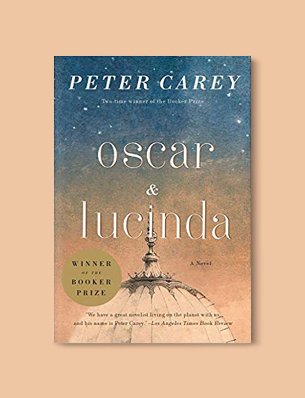 Booker Prize Winner 1988 - Oscar and Lucinda by Peter Carey - Visit www.taleway.com to find books set around the world. booker prize, booker prize winners, booker prize winners list, booker prize winners list pdf, man booker authors, man booker prize, man booker prize for fiction, booker prize for fiction, man booker prize winners, man booker prize novels, booker prize books, booker prize winners, reading list, book awards, booker reading challenge, literary awards, booker shortlists, booker longlists
