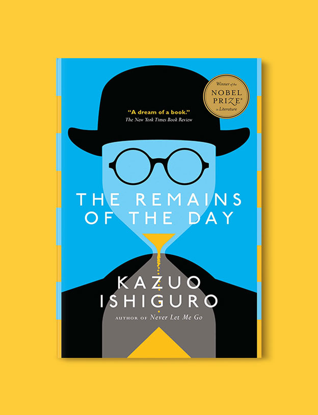 Booker Prize Winner 1989 - The Remains of the Day by Kazuo Ishiguro - Visit www.taleway.com to find books set around the world. booker prize, booker prize winners, booker prize winners list, booker prize winners list pdf, man booker authors, man booker prize, man booker prize for fiction, booker prize for fiction, man booker prize winners, man booker prize novels, booker prize books, booker prize winners, reading list, book awards, booker reading challenge, literary awards, booker shortlists, booker longlists