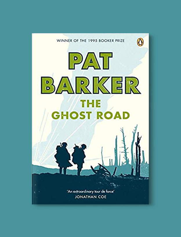Booker Prize Winner 1995 - The Ghost Road by Pat Barker - Visit www.taleway.com to find books set around the world. booker prize, booker prize winners, booker prize winners list, booker prize winners list pdf, man booker authors, man booker prize, man booker prize for fiction, booker prize for fiction, man booker prize winners, man booker prize novels, booker prize books, booker prize winners, reading list, book awards, booker reading challenge, literary awards, booker shortlists, booker longlists