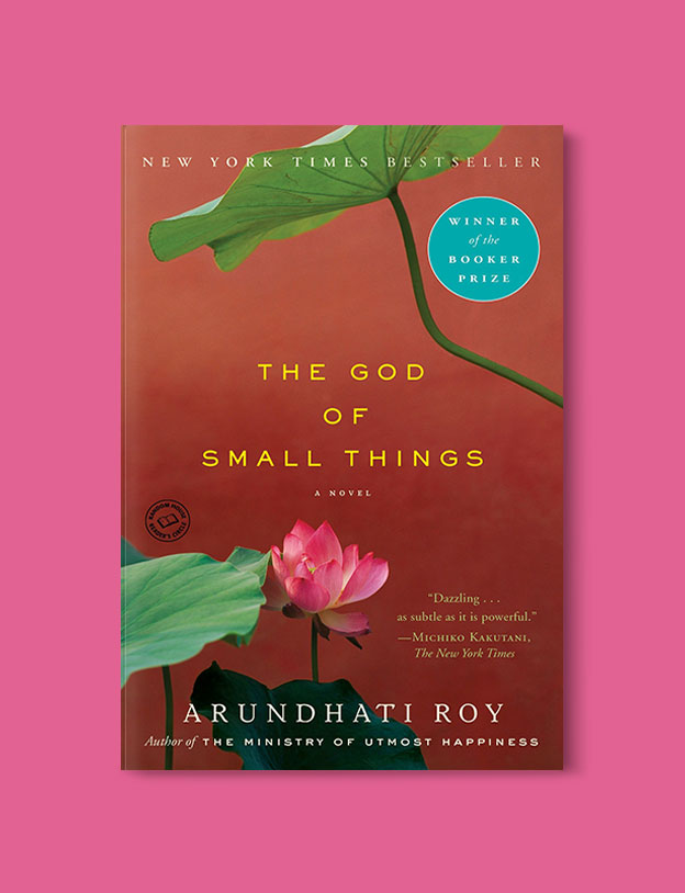 Booker Prize Winner 1997 - The God of Small Things by Arundhati Roy - Visit www.taleway.com to find books set around the world. booker prize, booker prize winners, booker prize winners list, booker prize winners list pdf, man booker authors, man booker prize, man booker prize for fiction, booker prize for fiction, man booker prize winners, man booker prize novels, booker prize books, booker prize winners, reading list, book awards, booker reading challenge, literary awards, booker shortlists, booker longlists