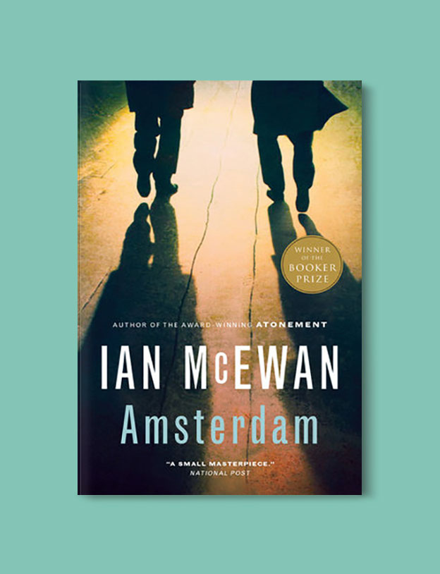 Booker Prize Winner 1998 - Amsterdam by Ian McEwan - Visit www.taleway.com to find books set around the world. booker prize, booker prize winners, booker prize winners list, booker prize winners list pdf, man booker authors, man booker prize, man booker prize for fiction, booker prize for fiction, man booker prize winners, man booker prize novels, booker prize books, booker prize winners, reading list, book awards, booker reading challenge, literary awards, booker shortlists, booker longlists